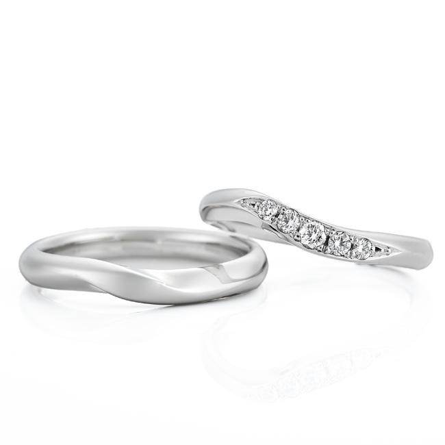 WRA009 WRB045|ロイヤルアッシャー 結婚指輪