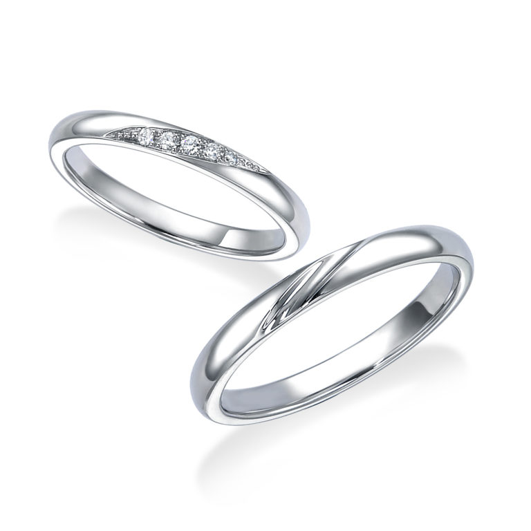 WRB076 WRA066|ロイヤルアッシャー 結婚指輪