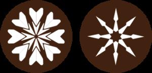 ダイヤモンドのハート&キューピッド